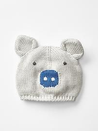 Pig sweater hat