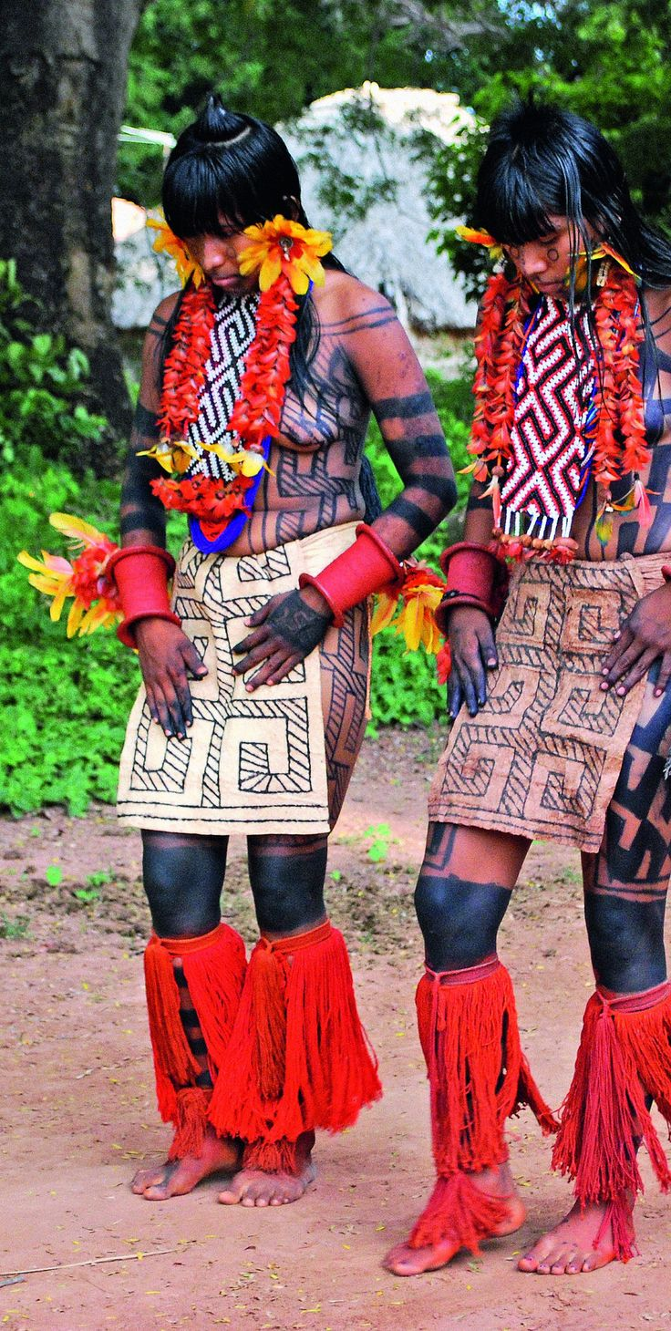 Shaman's servants reference - Amazonian tribespeople