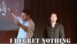 Jensen with a dash of Misha | Supernatural
