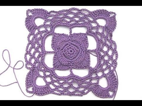 "Adventkalender 16 * Granny Square ""Quattro Stagione"" - YouTube"