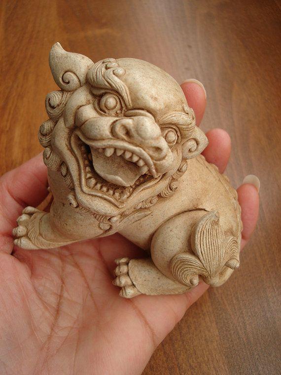 Foo Fu Dogs Figurines by jackscloset on Etsy