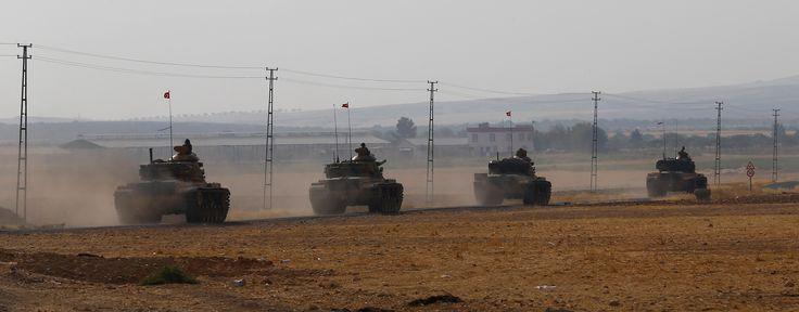 Кто форсирует Евфрат? Павел Фельгенгауэр — о блицкриге турецкой армии и ее союзников - Политика - Новая Газета