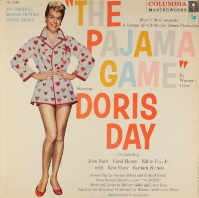 an analysis of the musical the pajama game The pajama game is a musical based on the 1953 novel 7½ cents by richard bissell the book is by george abbott and richard bissell .