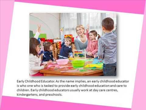 Job Opportunities with Diploma in Early Childhood Education - YouTube