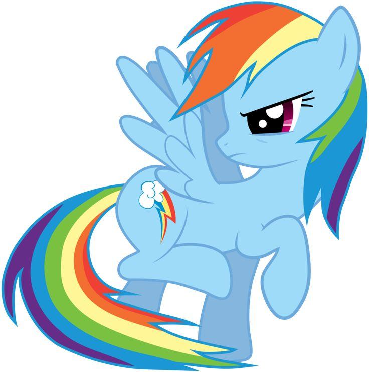 картинки пони радуги злой это