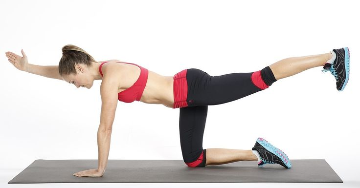 How to Do Bird Dog Exercise For Your Back | POPSUGAR Fitness
