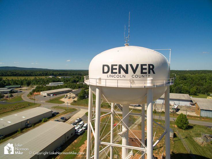 Denver NC - Water tower in the Denver Industrial Park