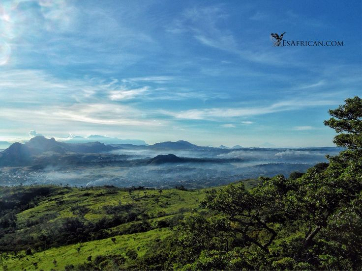 #MorningMist over #Blantyre from #Michiru Mountain. How's the #Weather?