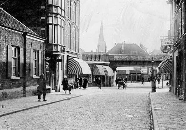 Hommelse Poort Arnhem, rond 1925.