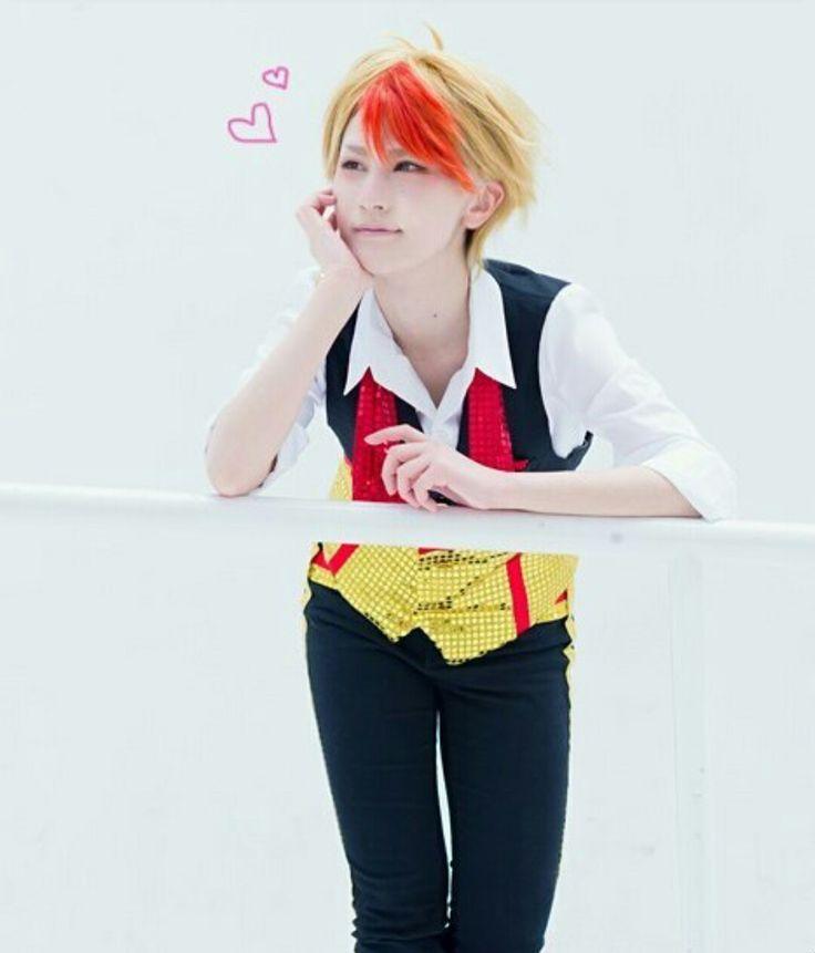 Yuri on ice- Minami Kenjirou #MinamiKenjirou #cosplay  #yuriplisetsky #yurionice #yuri #tumblr #cute