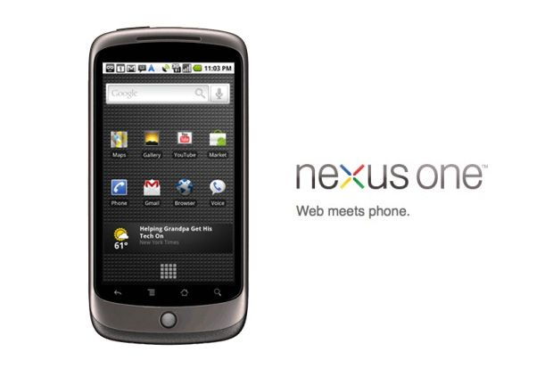 #nexus One Android phone