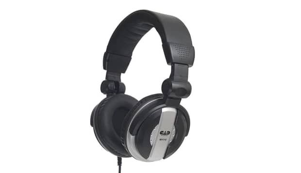 The CAD Audio MH110 is a circumaural, precision-built monitor headphone. TheMH110 is equipped with 50mm neodymium drivers offering extended frequencyresponse while delivering exceptional detail and clarity. Designed with an easyfold,comfort-fi t headband allowing for convenient storage and hours of fatigue-freelistening, the MH110 is an essential tool for enhanced studio performance and a vitalaccessory for the professional musician.