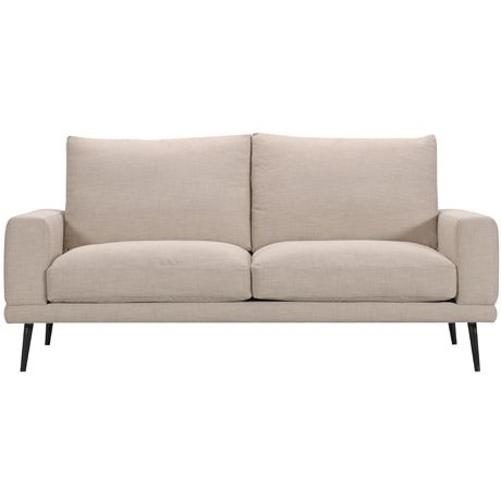 Width: 196 cm Height: 87 cm Depth: 94 cm Manhattan 2.5 Seat Sofa Loft Ecru