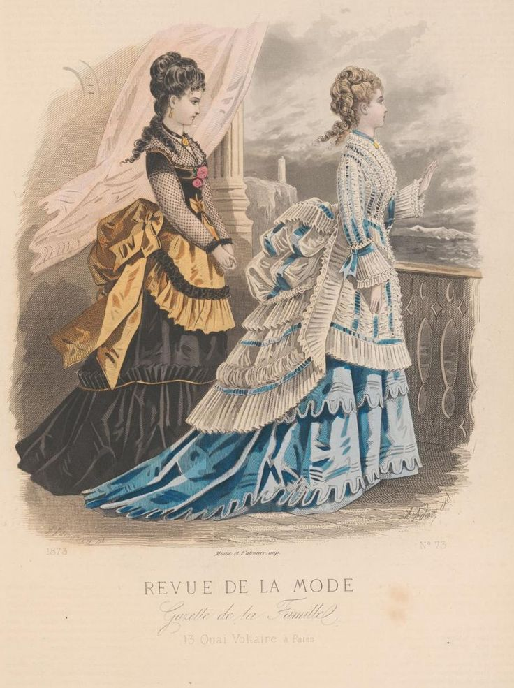 revue de la mode 1873 1873s fashion plates pinterest victorian bustle and costumes. Black Bedroom Furniture Sets. Home Design Ideas