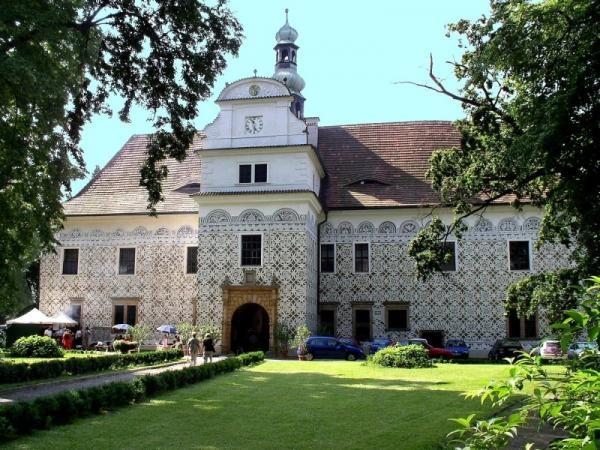 Doudleby nad Orlicí Chateau, Czech Republic