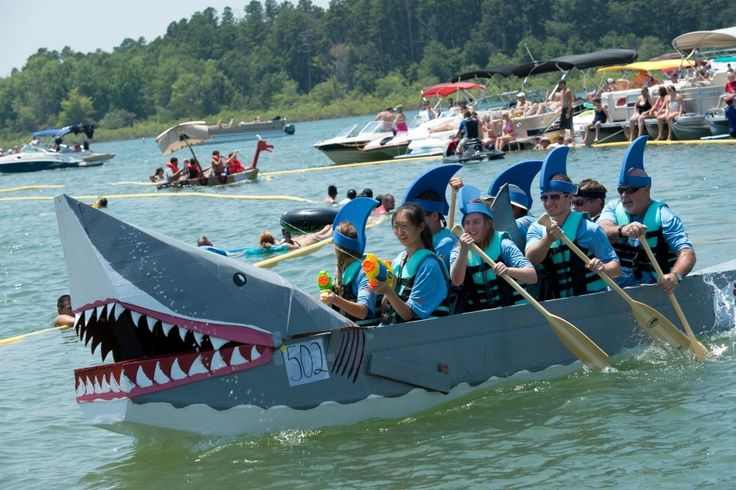 Jul 30, 2016 -  30th Annual World Championship Cardboard Boat Races - Heber Springs - North Central - Arkansas Parks and Tourism