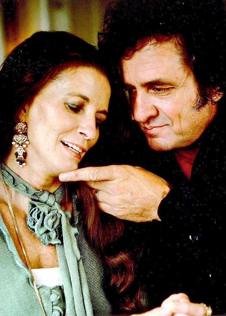 """Johnny Cash and June Carter"" Because you're mine. I walk the line"