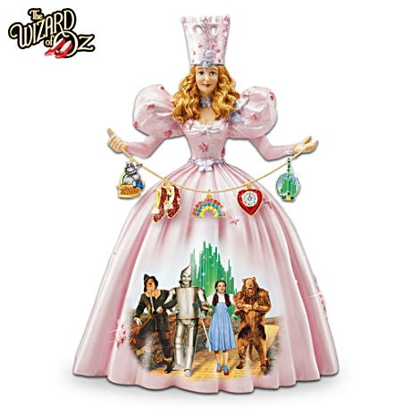 First-Ever Musical Glinda The Good Witch Figurine
