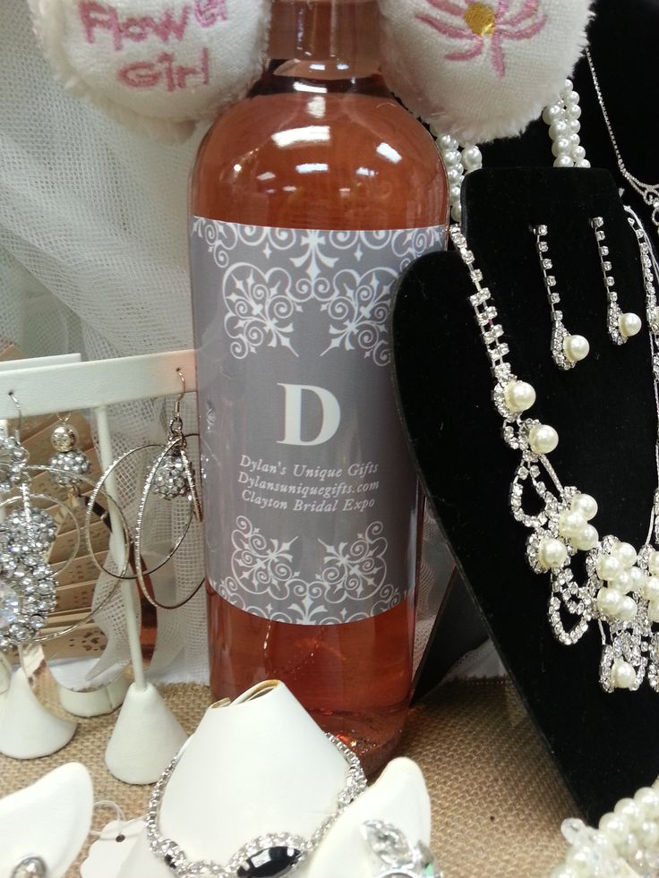 Custom Wine Bottles to accent any Wedding Decor