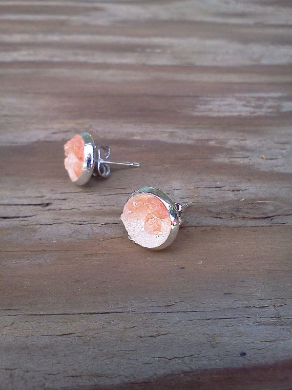 Pink Himalayan Salt Earrings!