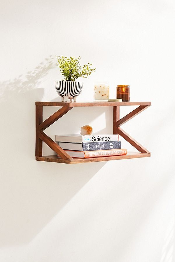 Lucy Double Wooden Wall Shelf Wall Shelves Design Wooden Wall