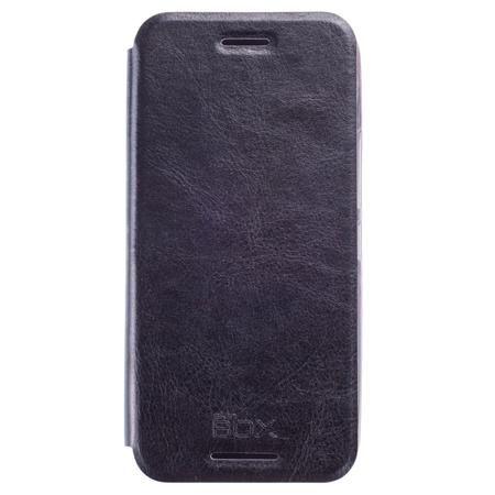 Чехол для HTC One M9 SkinBox Lux, черный  — 490 руб. —  Чехол Чехол для HTC One M9 SkinBox Lux, черный