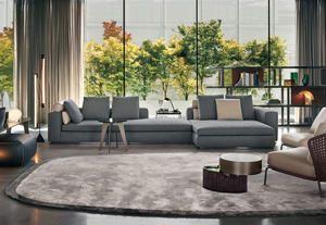 Minotti, design per la casa - esempio di area salotto firmata da Rodolfo Dordoni