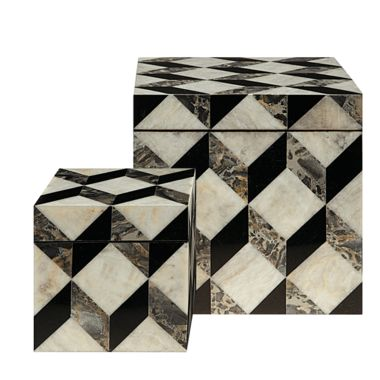 Armani Casa Ares trinket boxes, From £810 LOVE