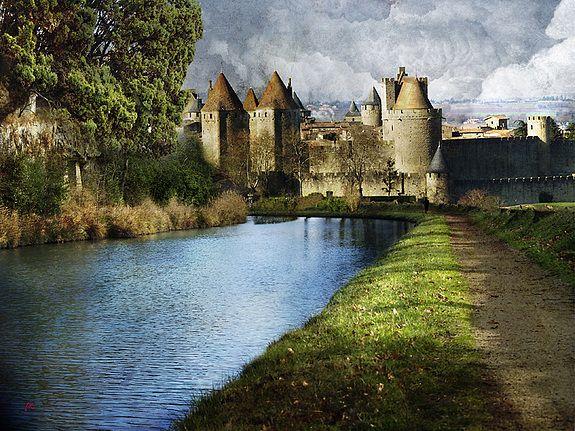 Canal du Midi | La Canal du Midi passe à Carcassonne. Iag Imagoadgraphicum (Iag)