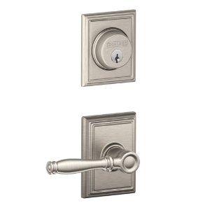 Fresh Schlage Entry Lockset and Deadbolt Combo