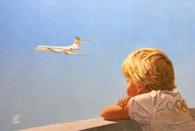 детская любовь к самолетам
