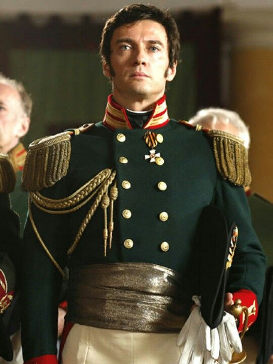 Alessio Boni as Andrei Bolkonsky in War and Piece (2007)