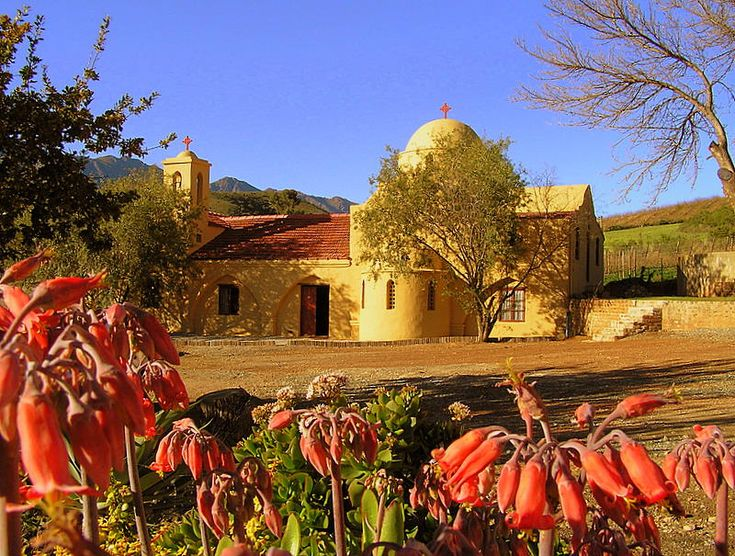 An Afrikaans orthodox chapel near Robertson, one of the towns on my planned route.