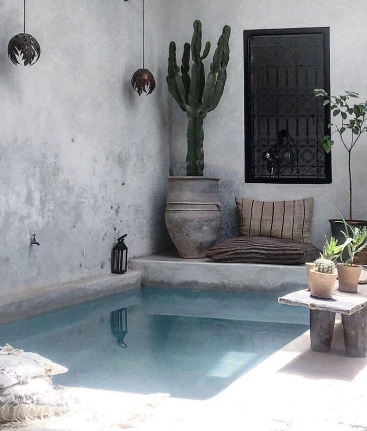 """3,440 gilla-markeringar, 10 kommentarer - Interior & More (@interiormilk) på Instagram: """"My Suumer Corner 💦 Photo 📸 @la_maison_marrakech ✨"""""""