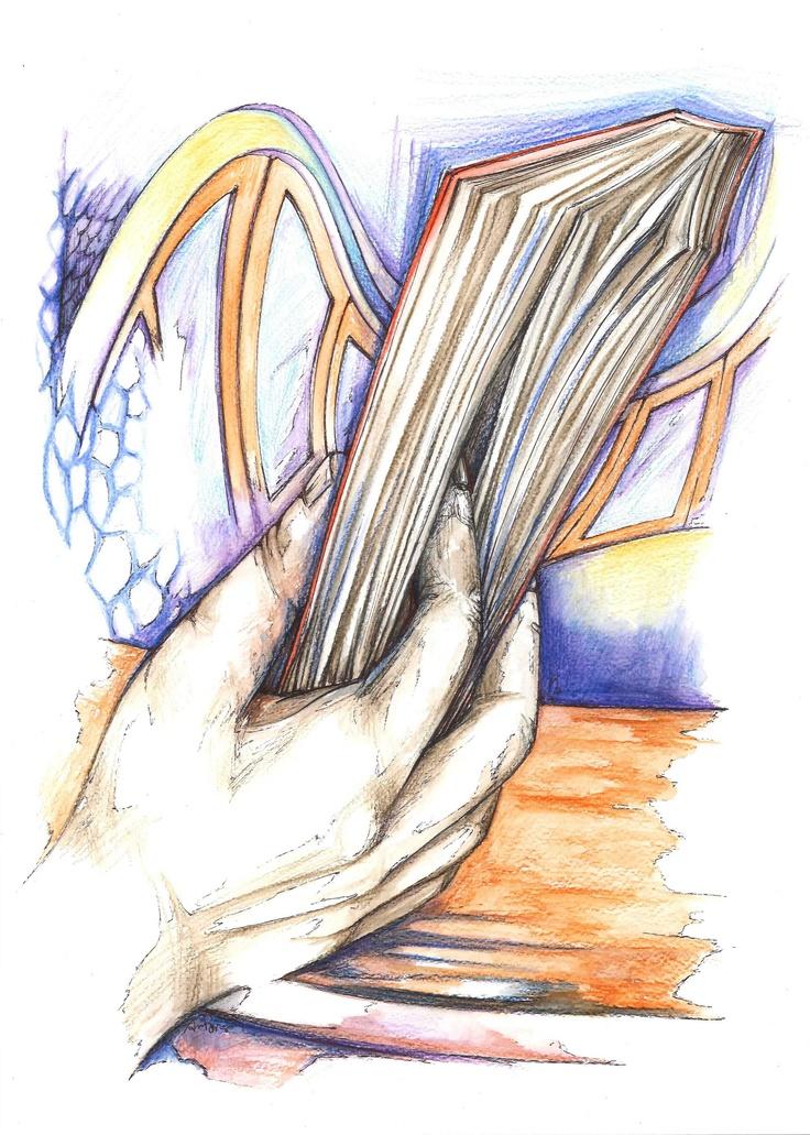 """""""Aveva sollevato il libro dalla cupa copertina con il dito indice infilato fra le pagine di cui teneva il segno."""" (Miló - n° 8)"""