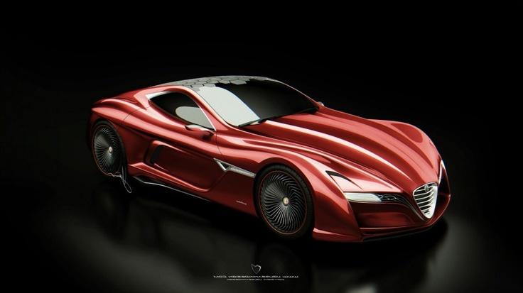 Alfa Romeo 12C GTS Wallpaper