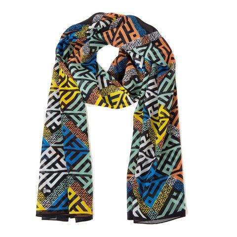 noorsaab   Menuhin   Luxury silk scarf