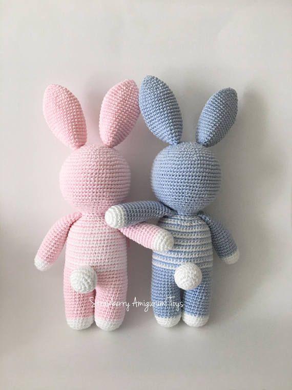 Häkelanleitung Amigurumi Bunny (nur Englisch)