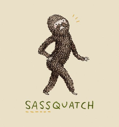 Sassquatch T-Shirt - Bigfoot T-Shirt is $11 today at TeeFury!