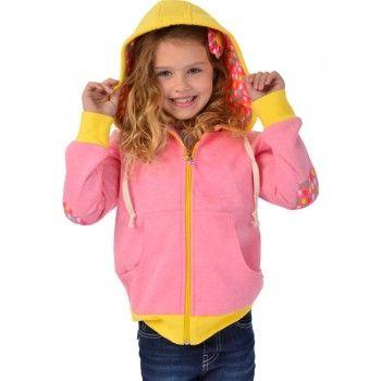 Matty Pink Rain Hoodie - Oobi.com.au