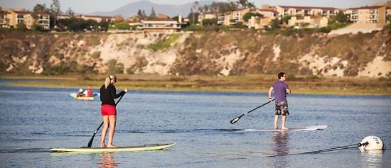 Back Bay Newport Beach Paddle Boarding