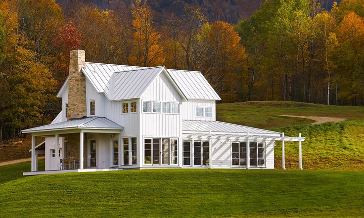 Vermont architecture interior design truexcullins for The modest farmhouse