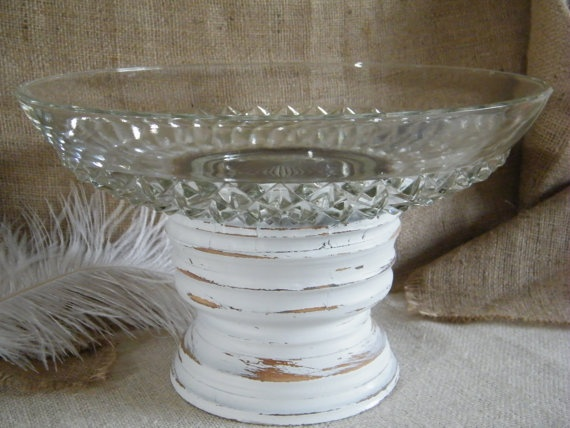 LARGE SERVING PLATTER OR BOWL, DO THIS WITH MY VINTAGE CANDLE HOLDERSmart Pract Ideas, Decor Ideas, Creative Ideas, Candle Holders, Candles Holders, Servings Platters, Servings Bowls, Large Servings, Vintage Candles