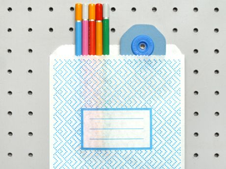 security pattern paper bag