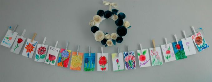 guests-paint-roses-for-banner