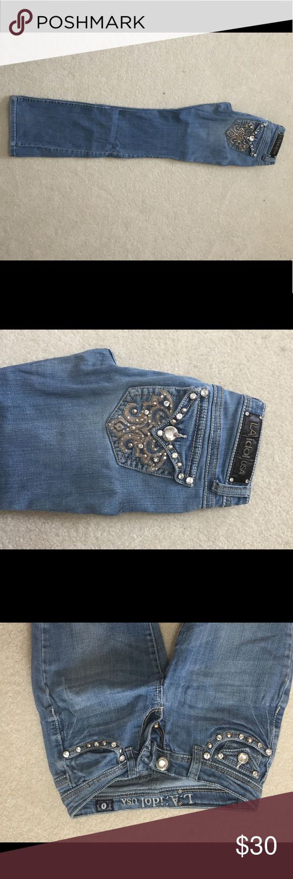 L.A idol jeans Super good condition! Jeans Boot Cut