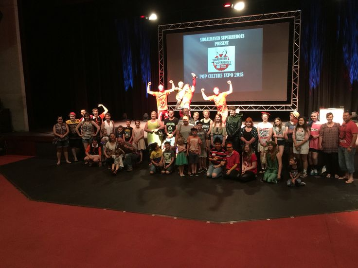 Thanks everyone who made it down to the Shoalhaven Superheroes Pop Culture Festival today at the Shoalhaven Entertainment Centre you guys were awesome and we hope you enjoyed the show  To have the Super Wrestling Heroes perform at your next Function or Event visit www.superwrestlingheroes.com.au ARE YOU READY TO PARTY?! #superwrestlingheroes #cosplay #popculture #shoalhaven