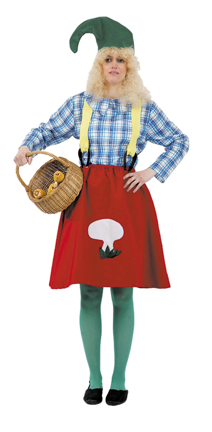 Disfraz de #granjera rural para chica