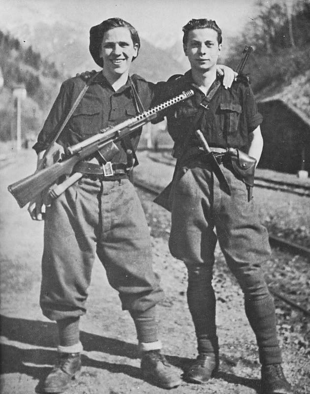 """Italian """"black brigade"""""""