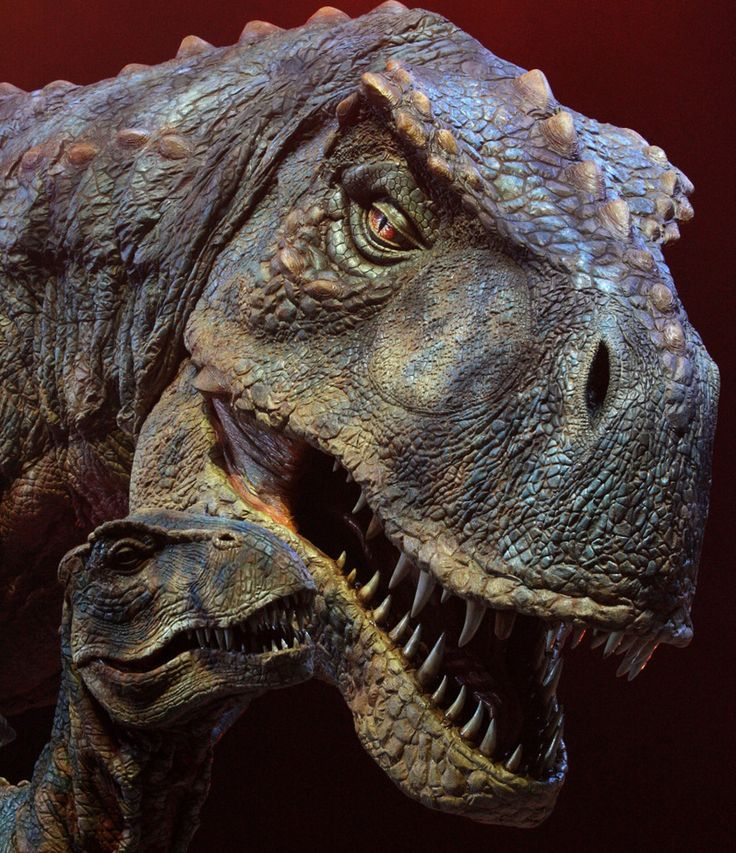 Walking With Dinosaurs - Tyrannosaurus Rex and her offspring